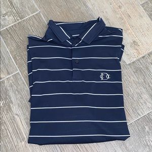 Fairway and Greene polo GUC with American flag